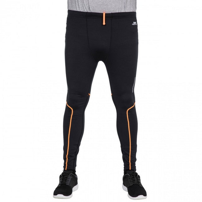 Noir - Back - Trespass Celand - Leggings de sport - Homme
