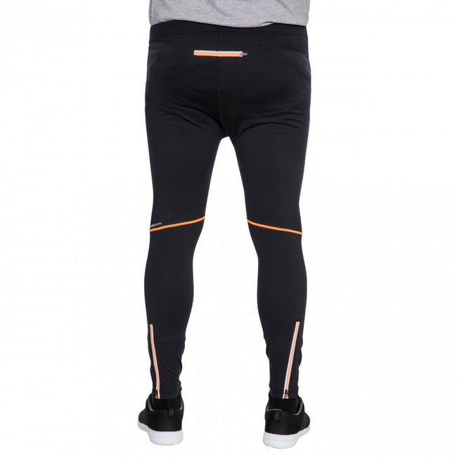 Noir - Side - Trespass Celand - Leggings de sport - Homme