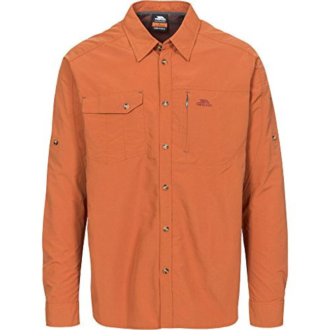 Orange - Front - Trespass - Chemise DARNET - Homme