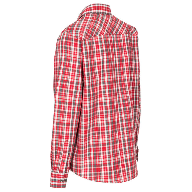 Rouge - Back - Trespass - Chemise à carreaux COLLECTOR - Homme