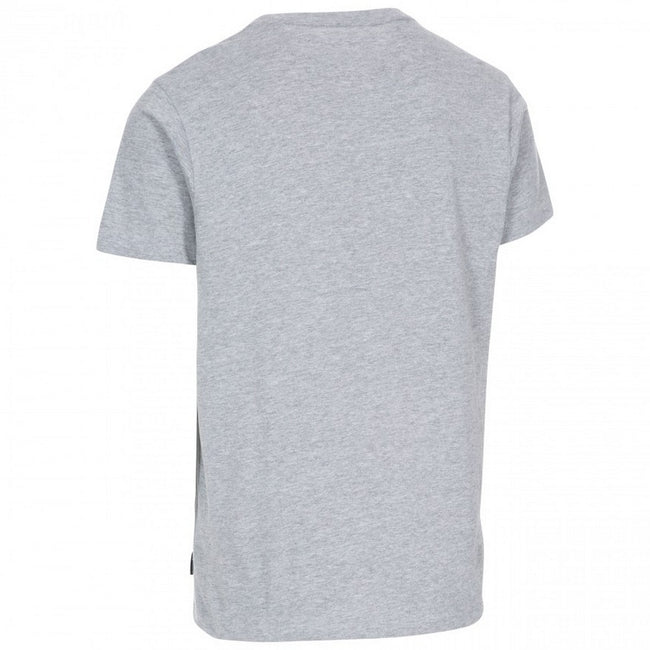 Gris chiné - Back - Trespass - T-shirt 'Go Further' GIBSON II - Homme