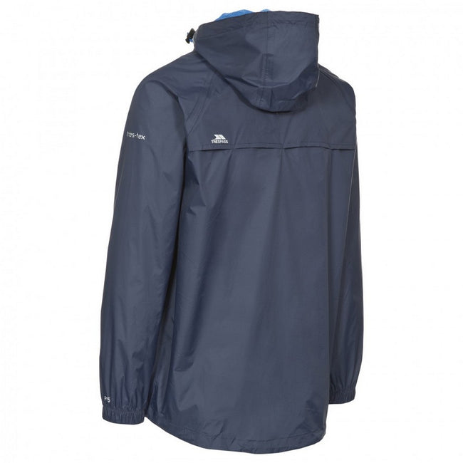 Jaune - Back - Trespass - Veste imperméable QIKPAC - Unisexe