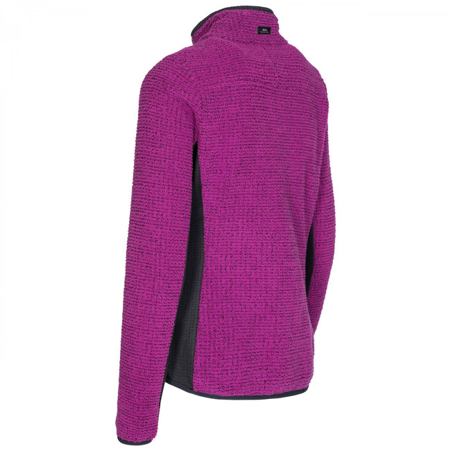Violet - Back - Trespass - Veste polaire LIGGINS - Femme