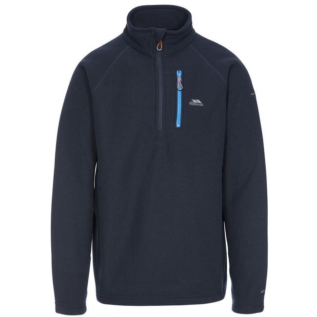 Bordeaux - Front - Trespass - Polaire STRUCTURAL - Homme