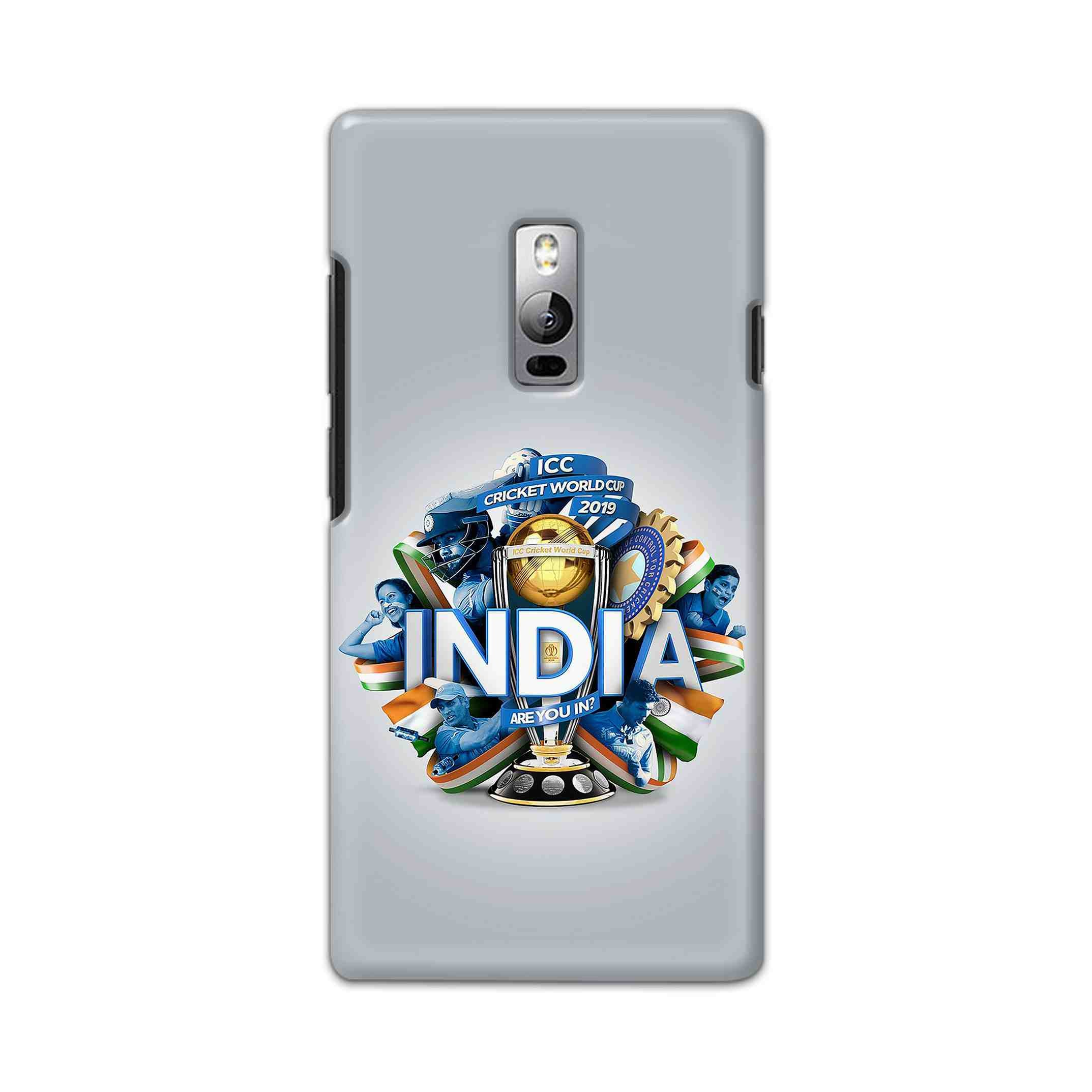 Icc India Cup Icon Printed Cases For One Plus 2