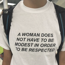 "Load image into Gallery viewer, ""To Be Respected"" T-Shirt - Dreamer Store"