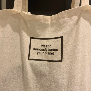 Plastic Harms Your Planet Bez Çanta
