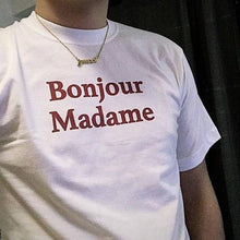 Load image into Gallery viewer, Bonjour Madame T-Shirt - Dreamer Store