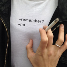 "Load image into Gallery viewer, ""Remember"" T-Shirt - Dreamer Store"