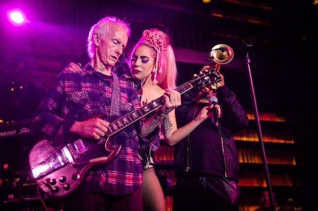 Robby Krieger and Lady Gaga 'Light a Fire' in Vegas