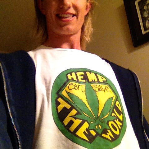 Hemp can Save the World t-shirt