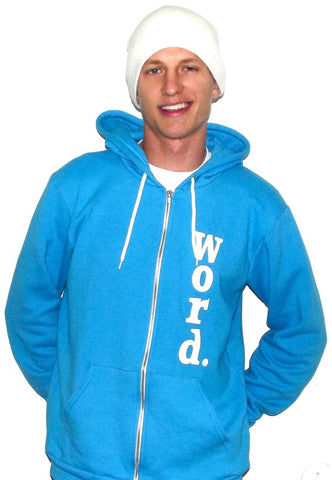 cool hoodies blue