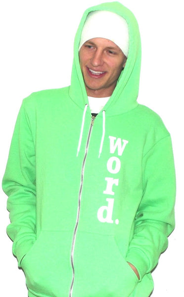 cool hoodies green