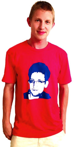 Edward Snowden t-shirt defends Constitutional Rights
