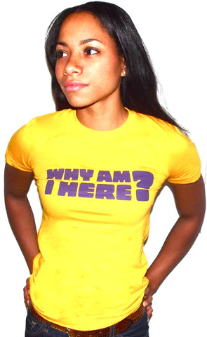 why am i here t shirts for a cause ethical fashion