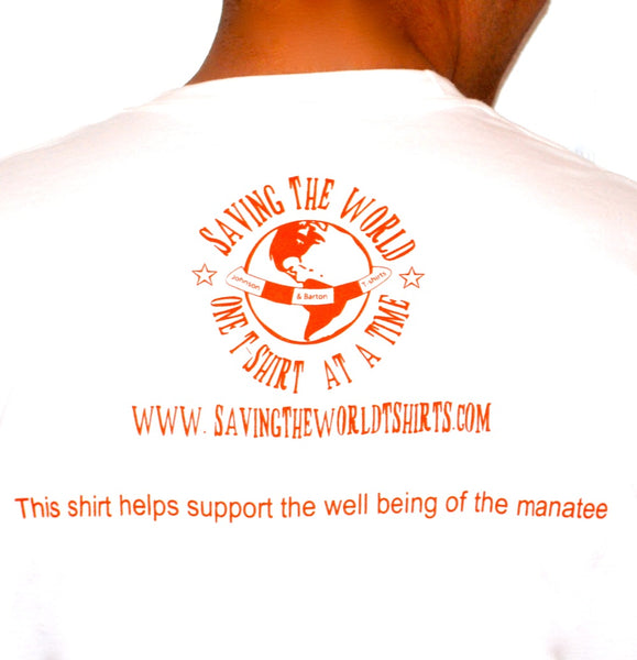save the manatees manatee t shirt