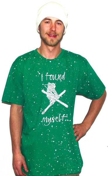vt skiing t shirt green mountains
