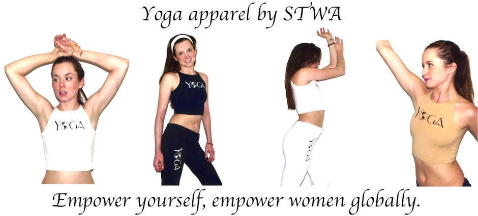 yoga apparel for charity