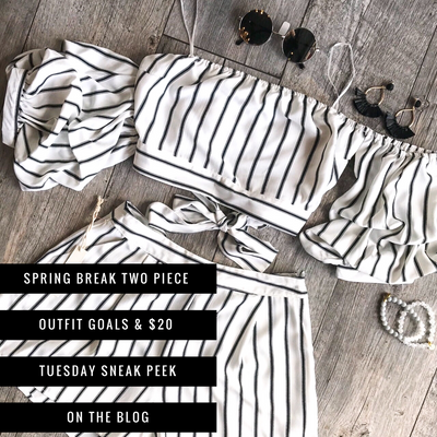 Spring Break Two-Piece Outfit Goals Are On $20 Tuesday