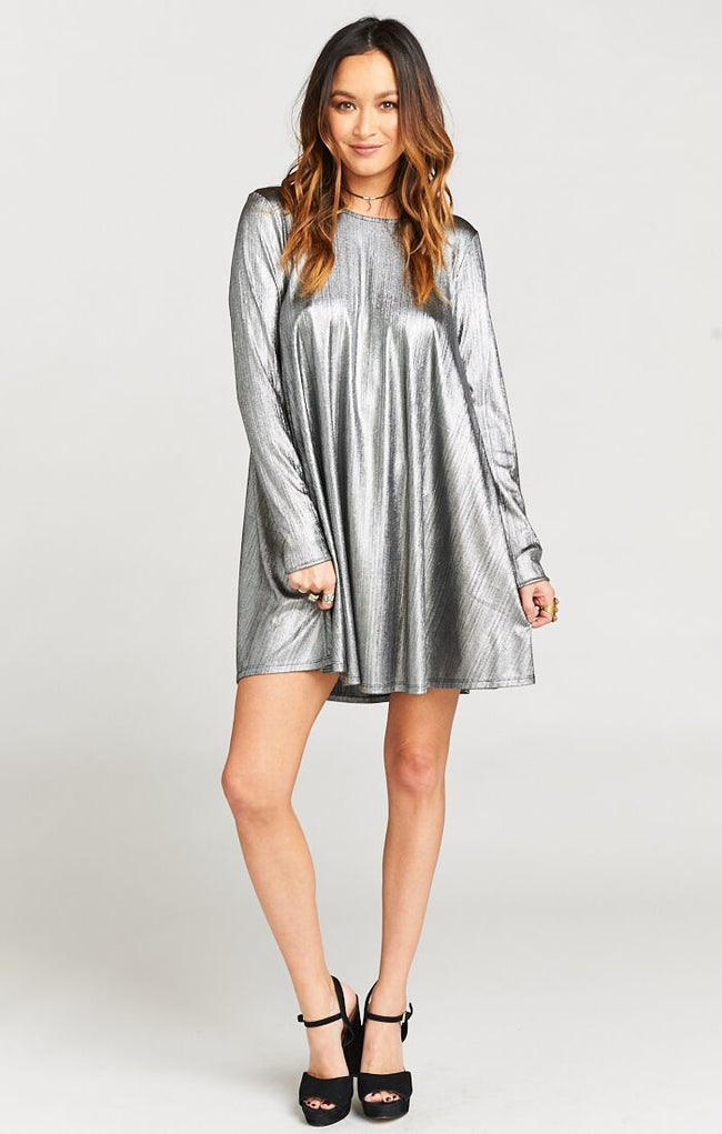 Show Me Your MuMu Tyler Tunic Dress ~ Call Me Disco