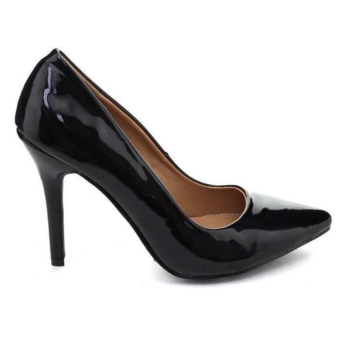 Yeeky Black Pump Heel