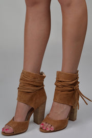 Chinese Laundry Dark Camel Leigh Heel Bootie