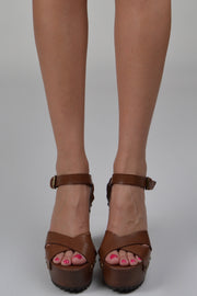 Elly Brown Studded Heel