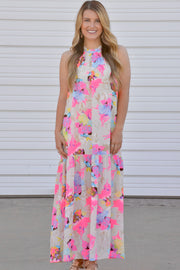 Buddy Love Ivy Hummingbird Floral Maxi Dress