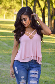 Shine Down On Me Blossom Pink Top
