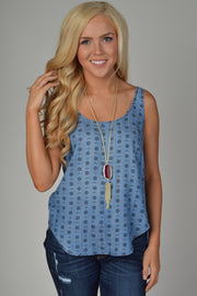 Velvet Heart Denim Kaalyn Sleeveless Tank Top
