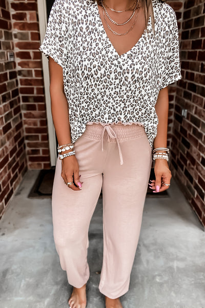 Jersey Girl Blush Lounge Pants
