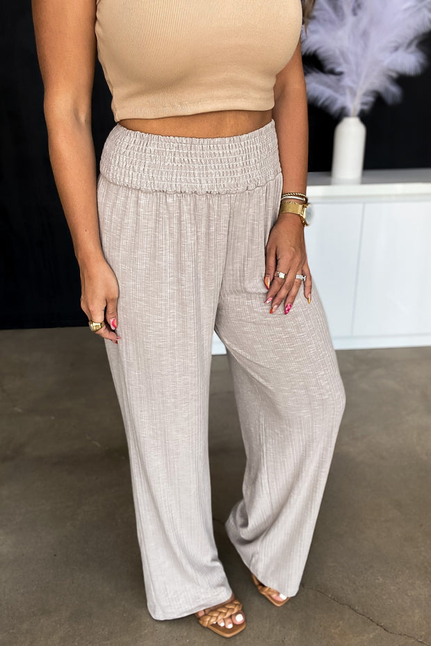 Let Them Know Brown Leopard Pants