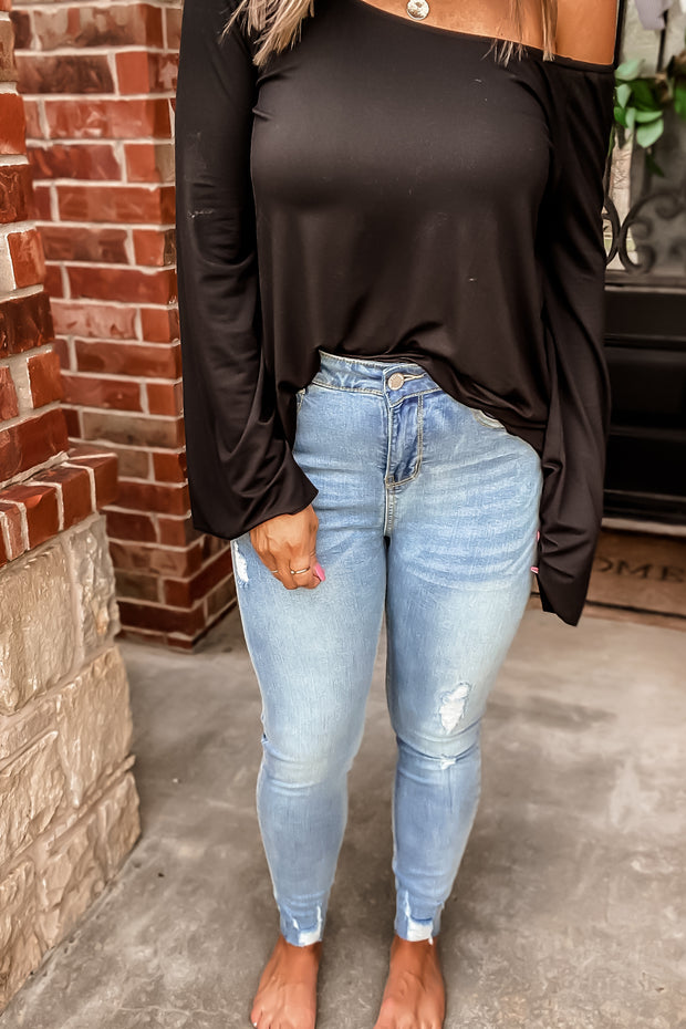 PRE ORDER You And Me Light High Waist Denim Jeans
