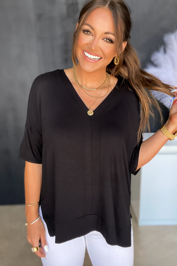 Won't Be Ignored Medium Wash Distressed Mom Jeans