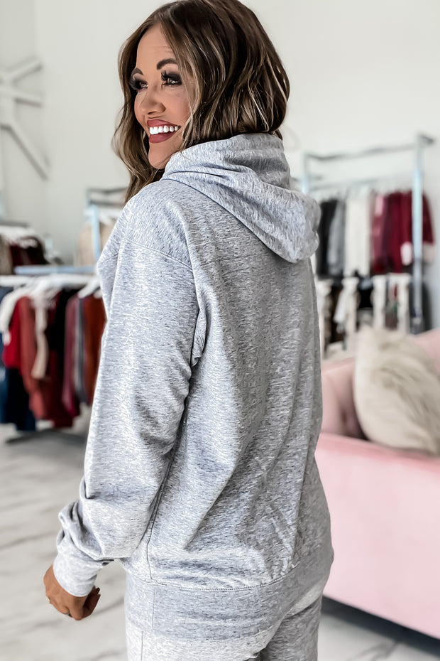 The Boyfriend Light Heather Gray Pullover