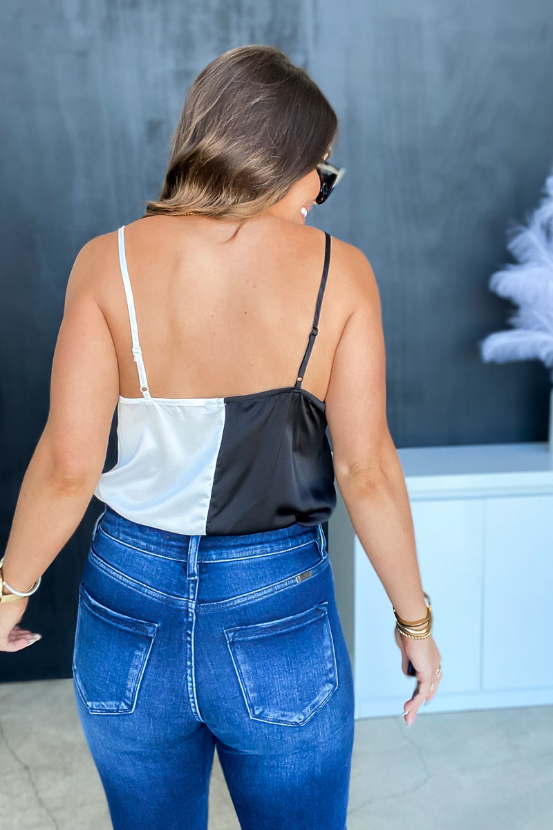 Holly Jolly Black Blouse