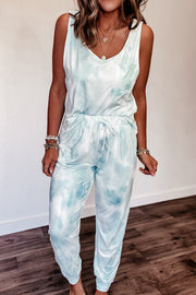 Praise You Mint Tie Dye Lounge Pants