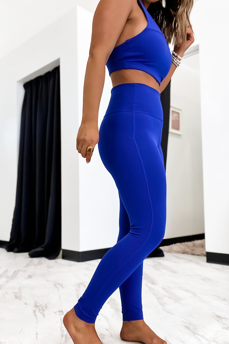 Ready To Go Royal Blue Leggings