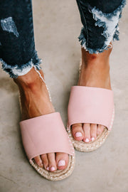 Vacation Blush Sandals