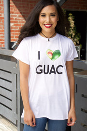 Show Me Your Mumu Oliver Tee I Love Guac Graphic