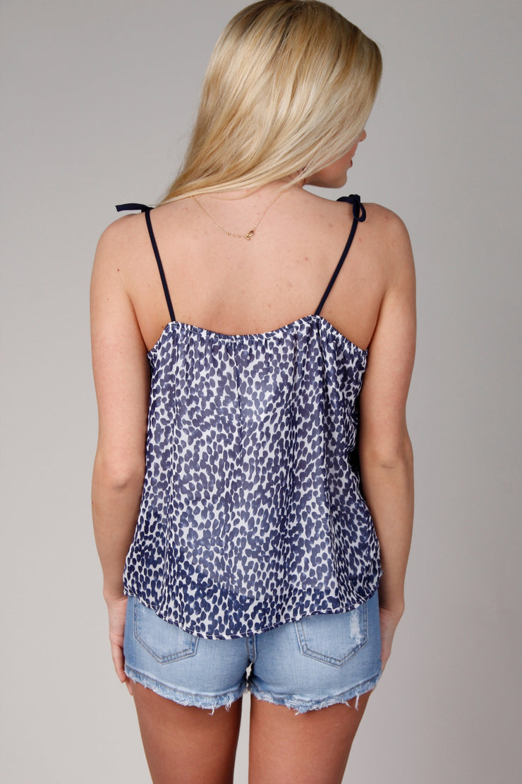 Deep Sea Adjustable Strap Tank Top