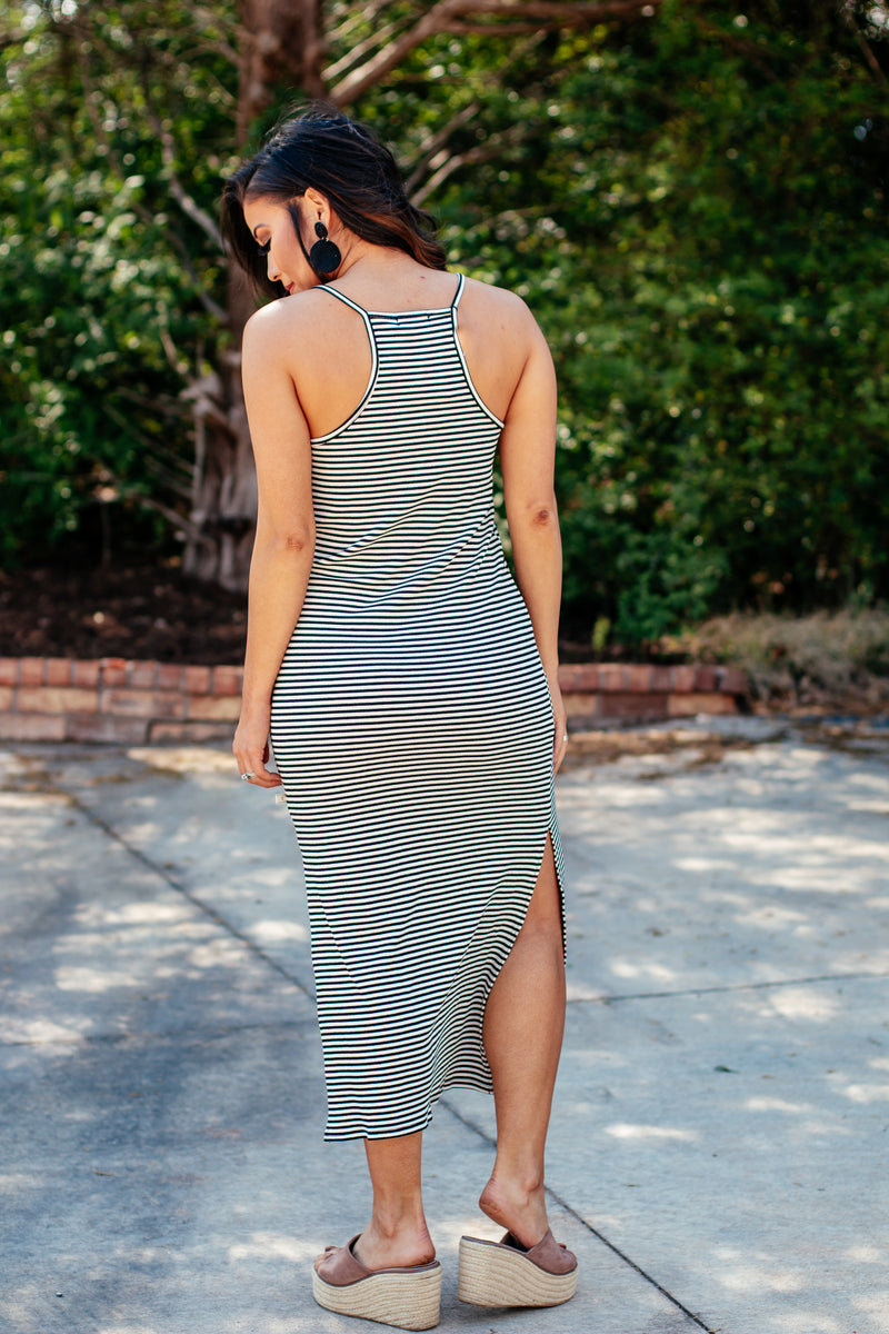 Lizzy Cami Racer Back Maxi Dress