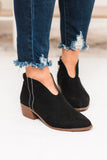 Rager V Cut Bootie in Black