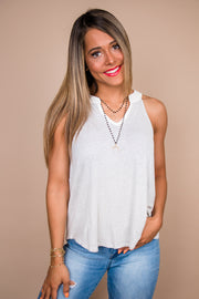 Long Summer Ivory Striped Top