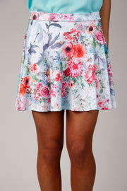 Spring Is Here Multi Color A Line Skirt