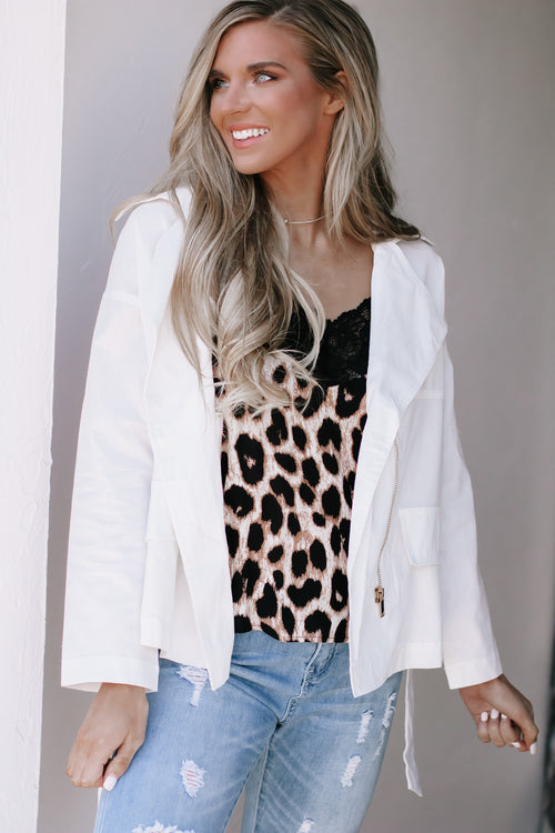 Undeniably You Cream Thermal Knit Top