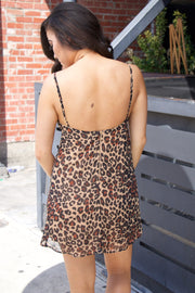 Show Me Your Mumu Elle Slip Dress Donna Cheetah