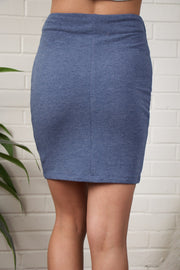 Open Road Blue Skirt