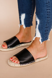 Vacation Black Sandal