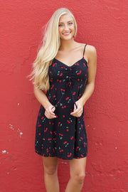 Whole New World Black Cherry Dress